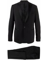 Tonello シングルブレスト ディナースーツ - ブラック