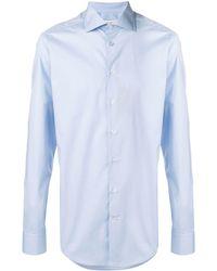 Etro Long-sleeve Shirt - Синий
