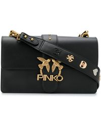 Pinko Сумка На Плечо Seventies - Черный