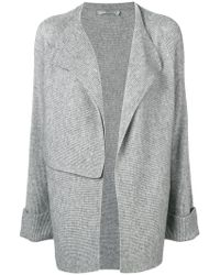 Vince - Panelled Cardigan - Lyst