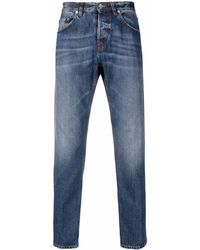 Eleventy Faded Slim-cut Jeans - Blue