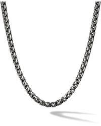 David Yurman Collar de cadena cuadrada - Multicolor
