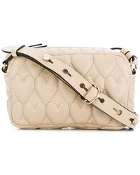 RED Valentino - Heart Quilted Crossbody - Lyst