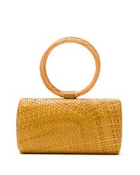 Serpui Raffia Hand Bag - Multicolour