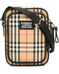 Burberry Umhängetasche mit Vintage Check - Mehrfarbig