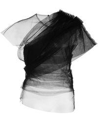 Khaite - Gianna チュール トップ - Lyst