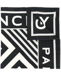 Givenchy Sciarpa con stampa - Nero