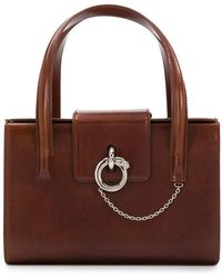 Cartier Chanel Pre-owned Dpgmcartbg1 Brown Leather - Коричневый