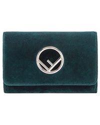 Fendi Wallet On Chain Minitas - Groen