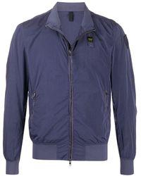 Blauer ボンバージャケット - ブルー