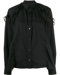 Sacai - アシンメトリーシャツ - Lyst
