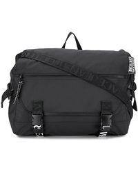 Versace Jeans Bold Logo Strap Bag - Black