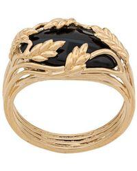 Aurelie Bidermann Francoise Ring - Metallic