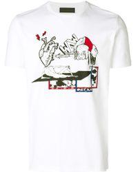 Diesel Black Gold - Graffiti Print T-shirt - Lyst