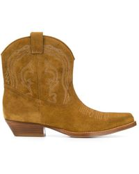 Ba&sh Colt Pointed Boots - Brown