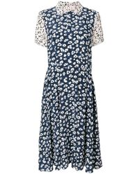 Marni - Floral Printed Dress - Lyst