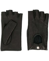 Manokhi Fingerlose Handschuhe - Schwarz