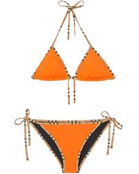 Burberry Icon Bikini - Orange