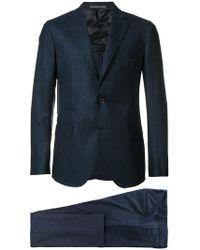 Eleventy - Stitch Detail Suit - Lyst