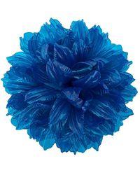 Molly Goddard Flower Brooch - Blue