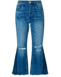 3x1 - W4 Higher Ground Gusset Crop Jeans - Lyst