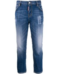 DSquared² I Love D2 Slim-fit Jeans - Blue