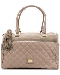 Boutique Moschino - Quilted Tote Bag - Lyst