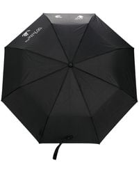 Off-White c/o Virgil Abloh Logo Print Umbrella - Black