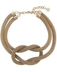 Silvia Gnecchi - Oversized Chain Necklace - Lyst