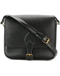 Louis Vuitton Сумка На Плечо 'cartouchiere' Pre-owned - Черный