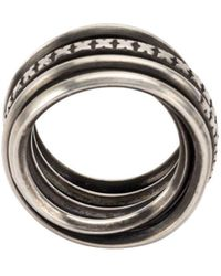 Werkstatt:münchen Wound Marks Ring - Металлик