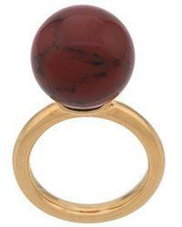 Mulberry Grace Coloured Ring - Metallic