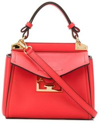 Givenchy Mini Mystic Tote - Red