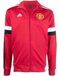 adidas Manchester United トラックトップ - レッド