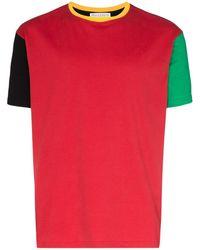 JW Anderson カラーブロック Tシャツ - ブラック