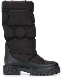 Ferragamo ガンチーニ ブーツ - ブラック