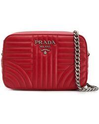 Prada - ダイアグラム ショルダーバッグ - Lyst