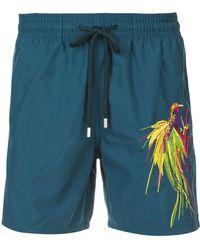 Vilebrequin Embroidered Swim Shorts - Blauw