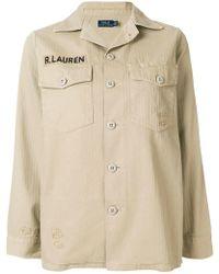 Polo Ralph Lauren - Military Shirt - Lyst