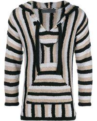 The Elder Statesman Striped Knit Jumper - Multicolour
