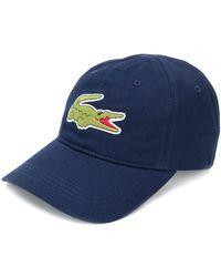 Lacoste Embroidered Logo Baseball Cap - Blue