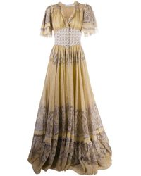 Etro Платье Макси С Принтом Пейсли - Многоцветный