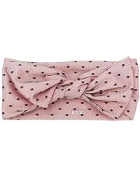 RED Valentino - Tulle Overlay Head Scarf - Lyst