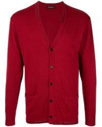 Loveless - Long-sleeve Fitted Cardigan - Lyst
