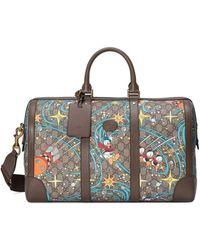 Gucci X Disney Duffel Bag - Brown