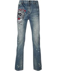 Haculla Often Imated Slim-fit Jeans - Blue