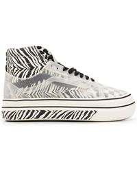 Vans Comfycush Sk8-hi Skool スニーカー - ホワイト