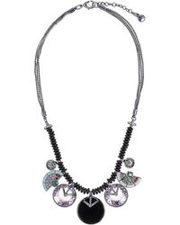 Camila Klein - Resin Pendant Necklace - Lyst