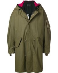 Helmut Lang - Parka in tessuto ripstop - Lyst