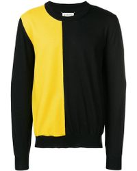 Maison Margiela - Chest Panel Crew Neck Jumper - Lyst